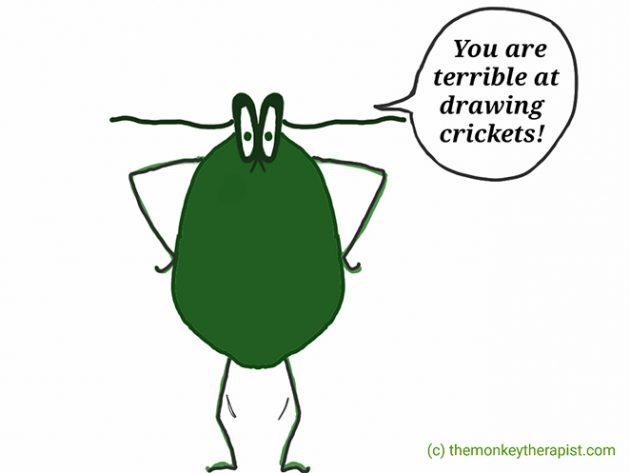 Inner Critic cricket